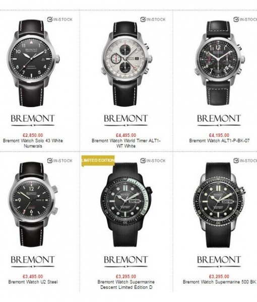 bremont watches for men