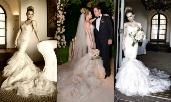 Hilary Duff's Wedding Dress
