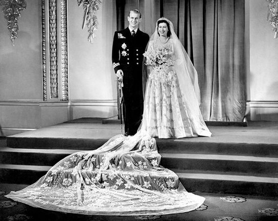 Queen Elizabeth II Wedding Dress