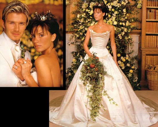 Victoria Beckham's Wedding Dress