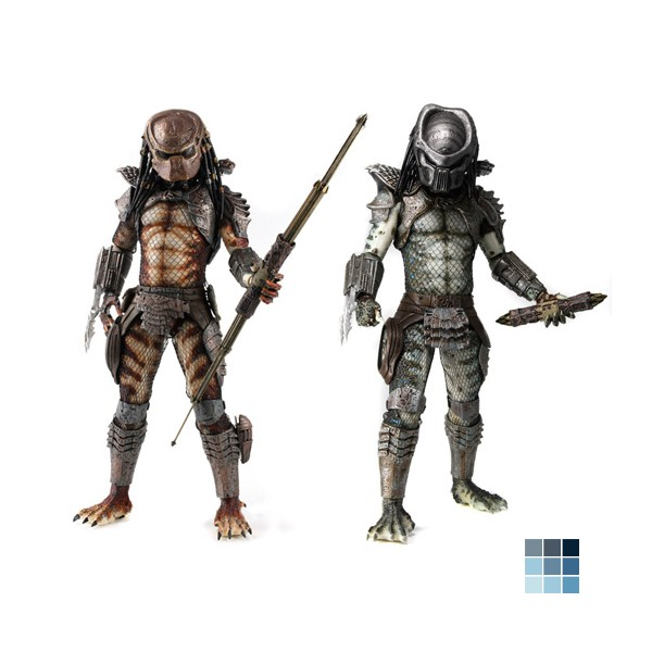 Neca Predators 2 – 1 in 4 Scale Figures by TSCToys