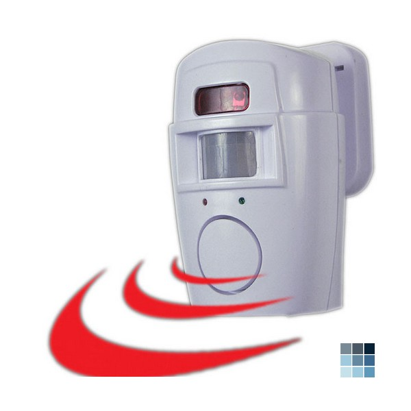 Trademark Commerce 2 In 1 Motion Sensor Alarm and Chime