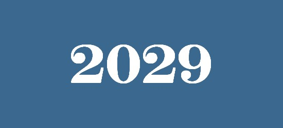 what will happen in 2029
