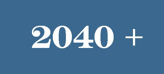 what will happen in 2040