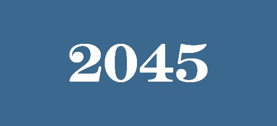what will happen in 2045