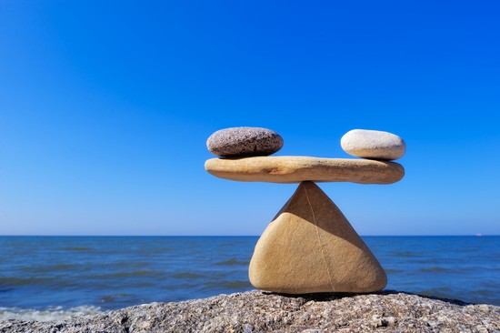 balance things out
